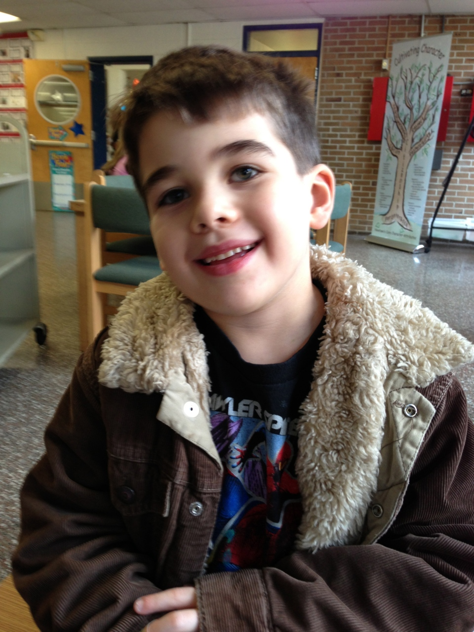 Six-year-old Noah Pozner, shown here on Nov. 13, 2012, was killed in Newtown, Conn. on Dec. 14, 2012. (AP / Family Photo)