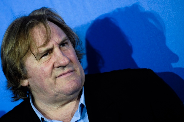 Gerard Depardieu in 2010
