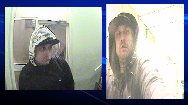 Police were looking for the public's help locating the robbery suspect seen in these photos. The 31-year-old was located early Saturday morning.