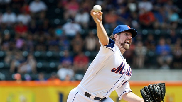 New York Mets' R.A. Dickey