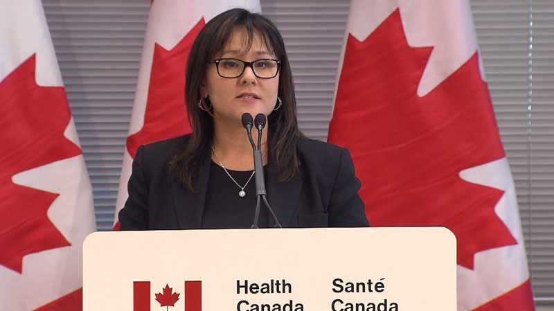 Health Minister Leona Aglukkaq announces proposed changes to Canada's medical marijuana policy in Maple Ridge, B.C. Dec. 16, 2012. (CTV)