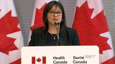 Federal Health Minister Leona Aglukkaq
