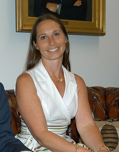 This July 2010 photo provided by the Newtown Bee shows Dawn Lafferty Hochsprung, principal at Sandy Hook Elementary School, in Newtown, Conn. (Eliza Hallabeck, courtesy of the Newtown Bee)