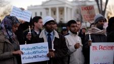 Gun control vigil White House
