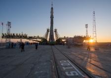 Soyuz rocket, Chris Hadfield, ISS