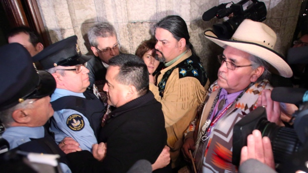 Idle No More First Nations protest