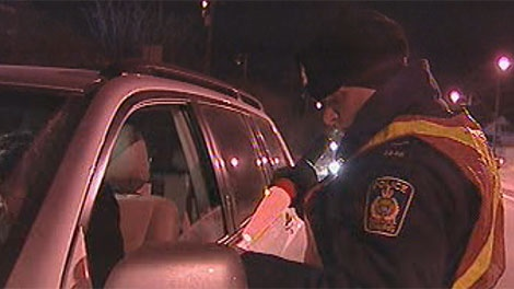 Police are set to launch checkstops on Dec. 3. (file photo)