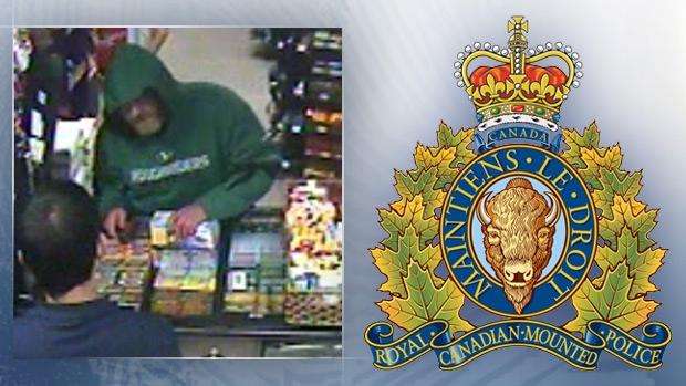 RCMP robbery suspect