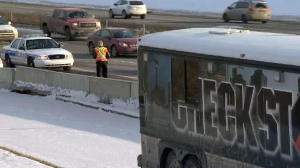 Calgary Police Service Check Stop