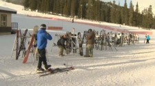 Mount Norquay is the closed ski resort to the Banf