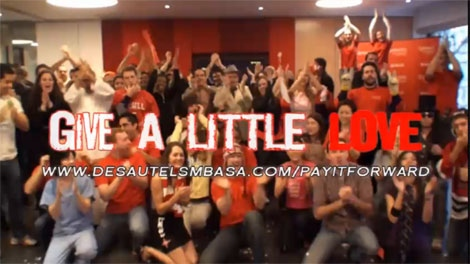 McGill MBA students got together to create a LibDub video in support of Movember.