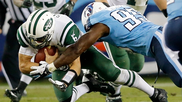 Mark Sanchez New York Jets Tennessee Titans NFL