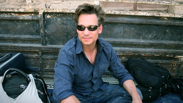 "Richard Engel is shown at the end of a reporting trip in Syria in July 2012. He and his production team were released unharmed on Dec. 18, 2012 after being held captive for five days inside Syria by an ""unknown group."" (AP Photo/NBC News)"