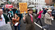 National Rifle Association protests