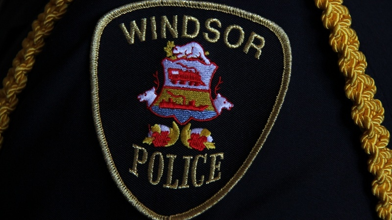 Windsor police investigate a stabbing on Marentette Avenue, Saturday, June 18th, 2016.