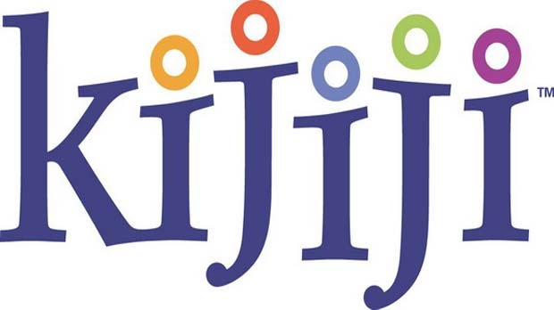The logo for Kijiji is seen.