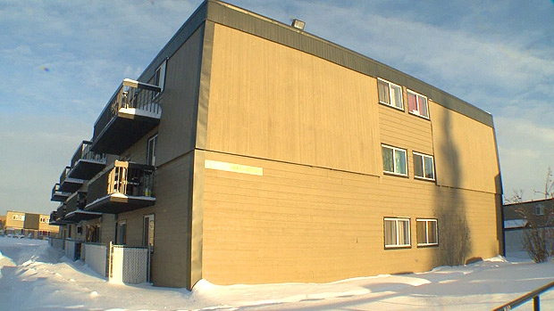 RCMP said a 48-year-old man died after falling down the stairs at an apartment building in Slave Lake.