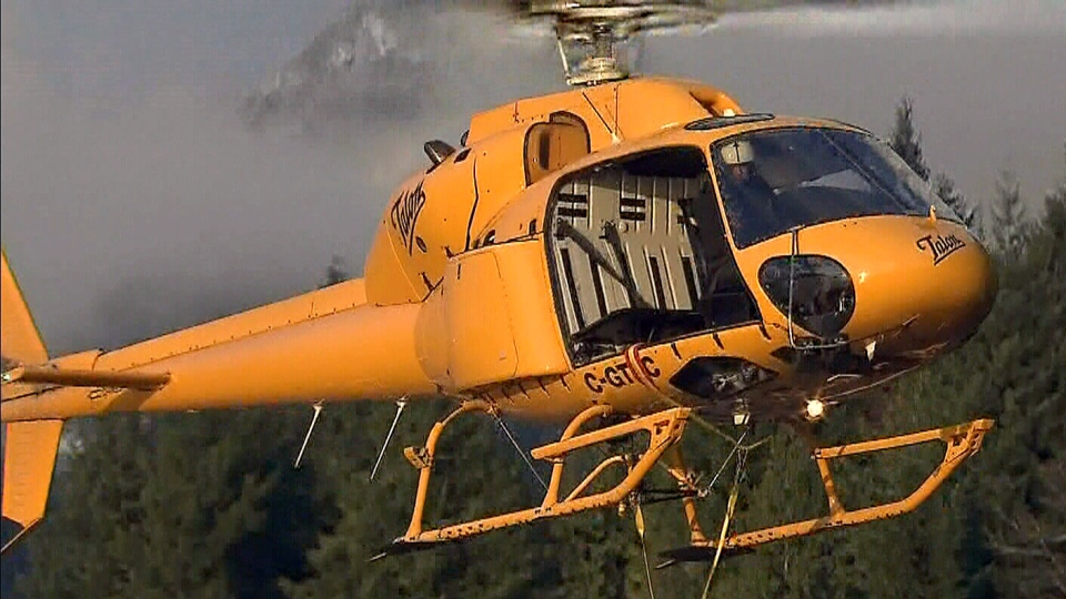 Crews rescued a snowboarder who had been missing for three days on Cypress Mountain in B.C.,  Tuesday, Dec. 18, 2012.