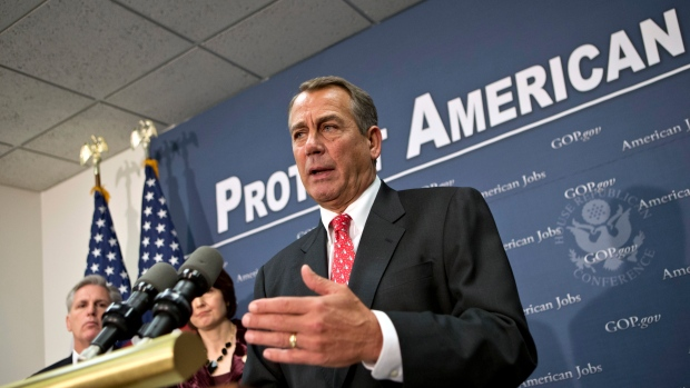 John Boehner discusses fiscal cliff negotiations