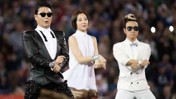 'Gangnam Style' wins top South Korean song award
