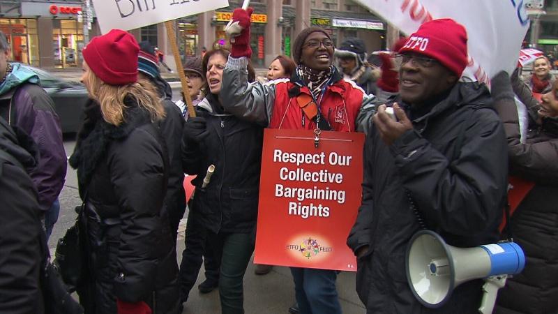 CTV National News: Walkout by elementary teachers