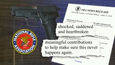 National Rifle Association releases statement