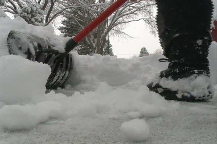 Moncton residents are still digging out after a weekend storm, but more snow is expected to fall.