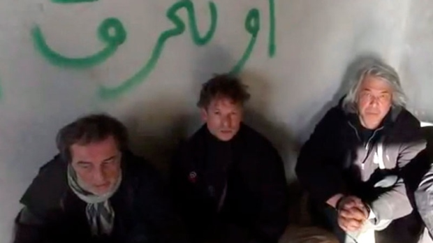 NBC reporter held hostage in Syria