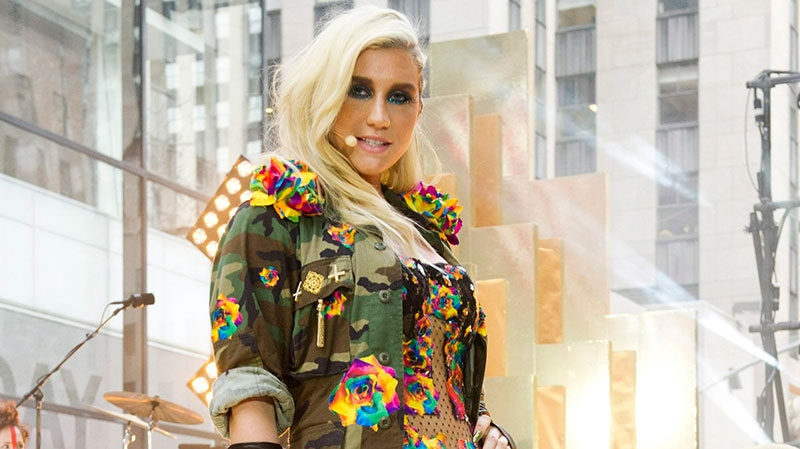 """Ke$ha performs on NBC's """"Today"""" show on Tuesday, Nov. 20, 2012 in New York. (Charles Sykes / Invision)"""