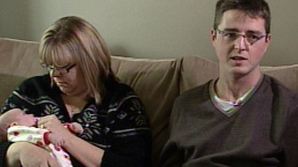 Erin Schmidt and Steven Leckie sit down with CTV News on December 1, 2010.