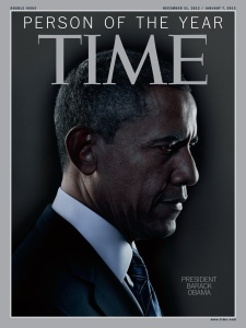 Obama was named Time Magazine's Person of the Year