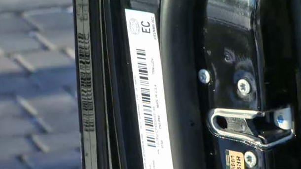 Vehicle Identification Numbers are unique and can be found on the inside driver's side door or dashboard.