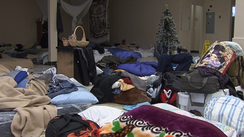 A Vancouver homeless shelter is seen in this file photo. (CTV)
