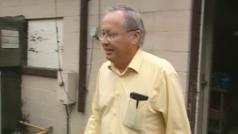 Arlan Galbraith, the sole owner and shareholder in Pigeon King International, is seen in this 2008 image taken from video.