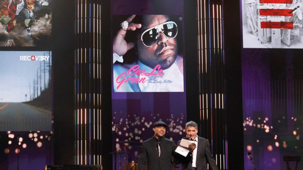 Nominations for the 53rd grammy awards ctv news ll cool j and craig ferguson announce the nominees for record of the year at the malvernweather Image collections