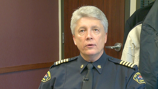 Edmonton Fire Chief Ken Block