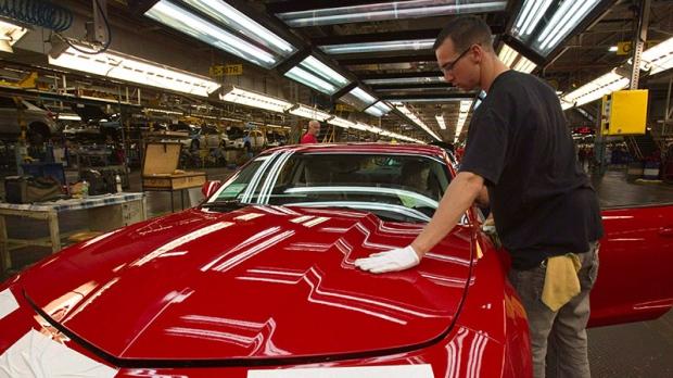 GM recall Camaro