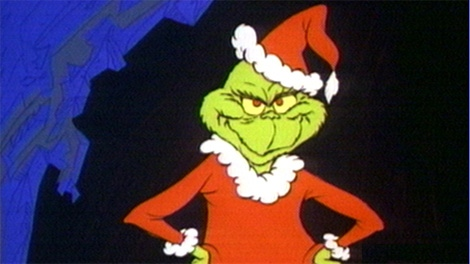The Grinch was a notorious penny pincher during the holidays. But you don't have to be, according to financial experts. (File)