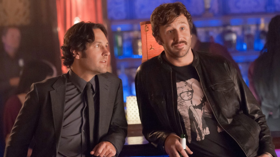 Paul Rudd, Chris O'Dowd in a scene from Universal Picture's 'This is 40'.