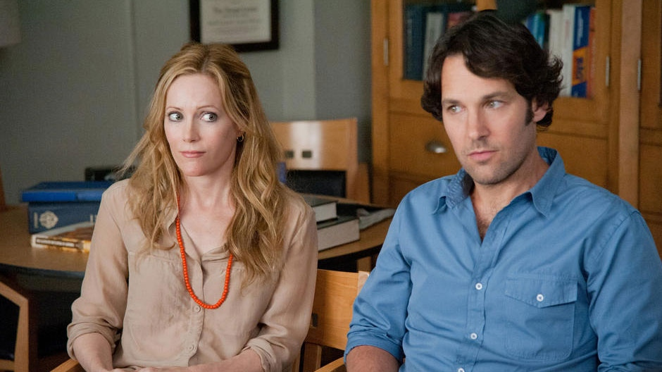 Leslie Mann, Paul Rudd in a scene from Universal Picture's 'This is 40'.