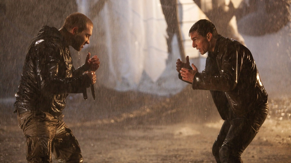 Tom Cruise and Jai Courtney in a scene from Paramount Picture Canada's 'Jack Reacher'.