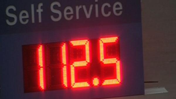 Gas prices across Toronto increased overnight.