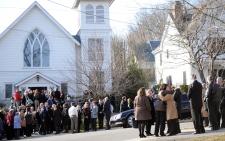 Anne Murphy Newtown shooting funeral