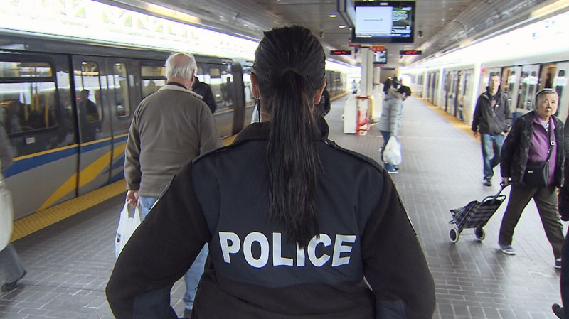 Transit Police in Metro Vancouver are warning passengers about a rise in electronic device thefts. Dec. 20, 2012. (CTV)