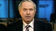 University of Calgary professor and former Conservative campaign manager Tom Flanagan speaks with CTV's Question Period on Sunday, Feb. 1, 2009.