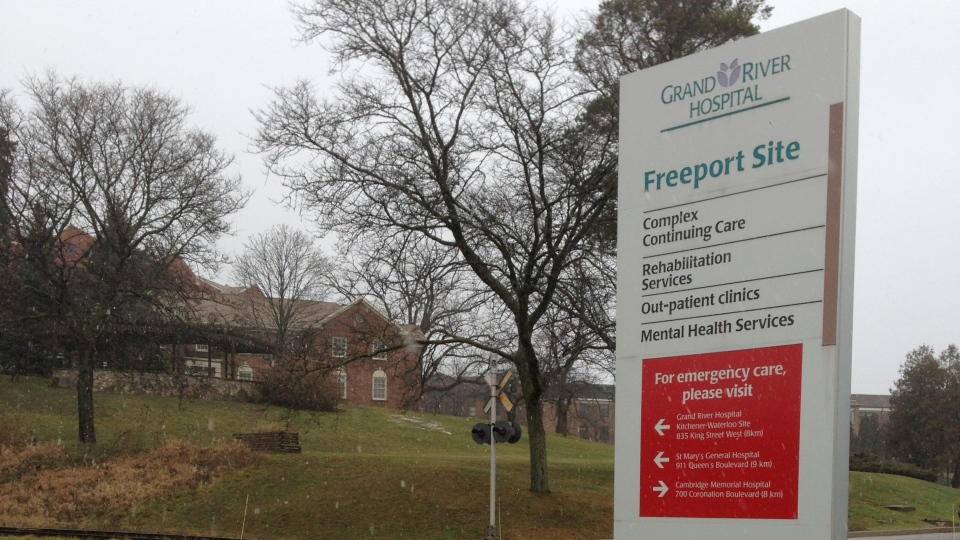 The Freeport site of Grand River Hospital in Kitchener, Ont., is seen on Friday, Dec. 21, 2012. (Brian Dunseith / CTV Kitchener)