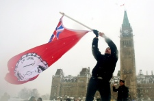 Idle no more protest in Ottawa