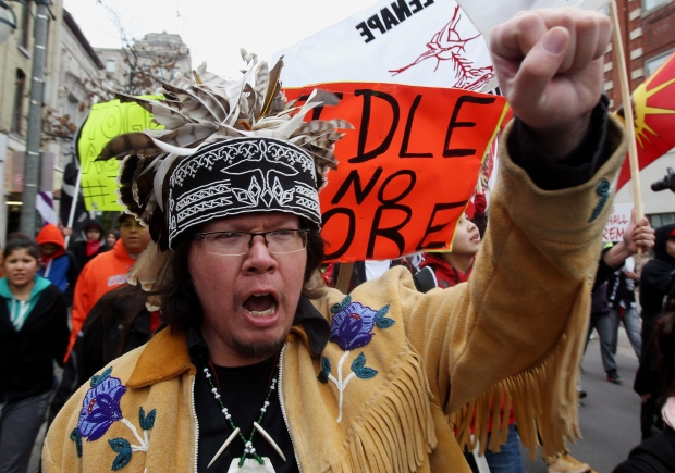 Native protests Idle No More