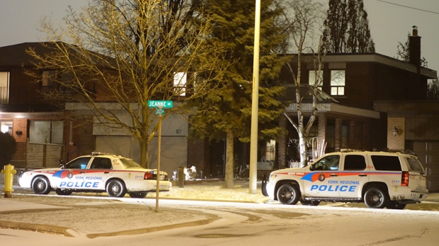 Police seek suspects after Vaughan home invasion