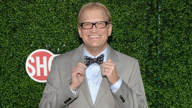 Television personality and actor Drew Carey arrives at the CBS CW Showtime press tour party in Beverly Hills, Calif. on Wednesday, July 28, 2010. (AP / Dan Steinberg)